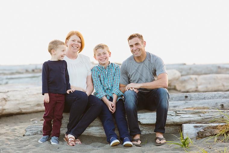 Iona beach family portraits Richmond