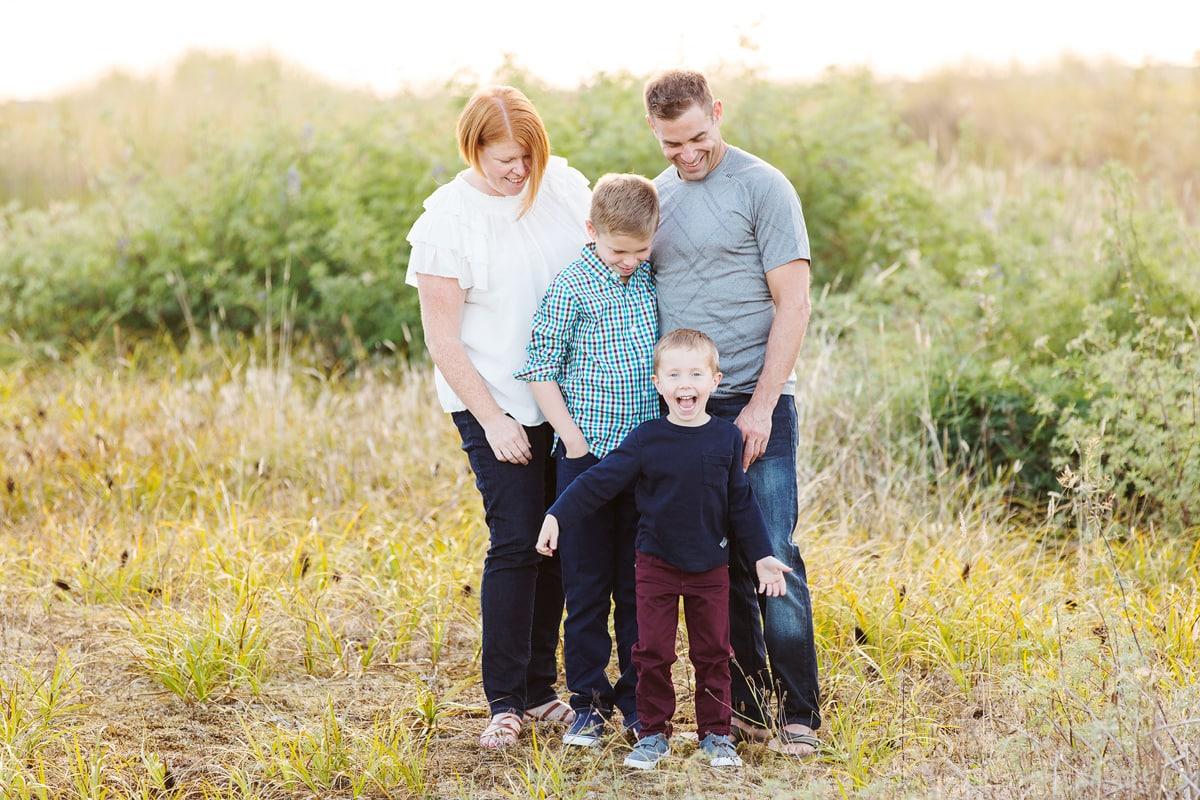 Iona beach Richmond family photography